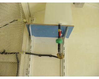 Filter en kraantje in drinksysteem