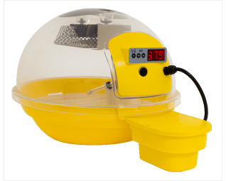 Digitale fiem smart broedmachine geel